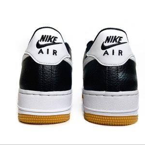 Nike Shoes - NWT Nike Air Force 1 Leather Black-White